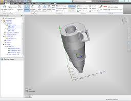 Cyclone Separator Design Software Cyclone Separator Autodesk Community Cfd