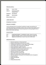 Health Care Assistant Personal Statement Personal Details Name Lauren Smith Address 4a Westpoint Road