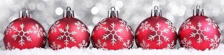 Image result for afbeelding rode kerstballen