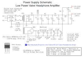 diy 6dj8 ecc88 tube hi fi headphone amplifier project 6dj8 ecc88 valve headphone amp power supply schematic