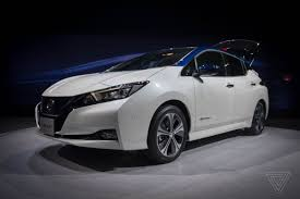 2018 nissan car models. plain car today nissan finally unveiled the 2018 leaf its nextgeneration electric  vehicle set to take on a new breed of mainstream competitors like chevy bolt  in nissan car models