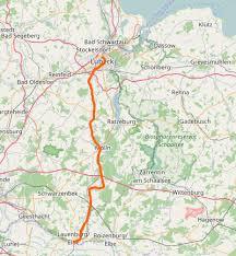 75 prozent der strecke auf flüsse und 25 prozent auf kanäle entfallen. Elbe Lubeck Kanal Faltbootwiki