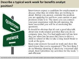 free pdf download 3 describe a typical work week for benefits analyst position benefits analyst job description
