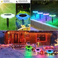 Solar Light Up Water Feature Amazon Com Voberry Solar Lights Outdoor Led Light Solar