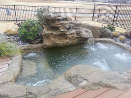 inground pools with rock waterfalls. Rock Spa Inground Pools With Waterfalls