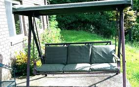replacement cushions for patio swings and canopy outdoor swing chair cushion s