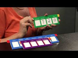 Place Value Flip Chart Printable Place Value Sliders Youtube