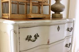 antique white chalk paintChalk Painted Dresser  daisymaebelle  daisymaebelle