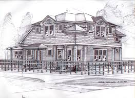 Wonderful Architecture Drawing Design Techniques And Pencil