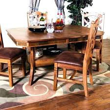 kitchen table with leaf insert erfly tables round built in lazy susan kit