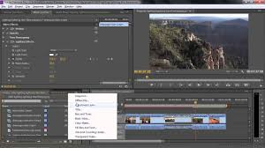 adobe premiere pro cc tutorial using the lighting lightning and lens flare effects you