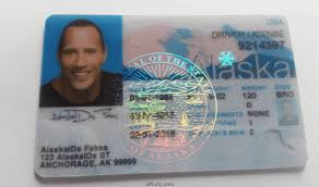 Fake Id Alaska Maker Card