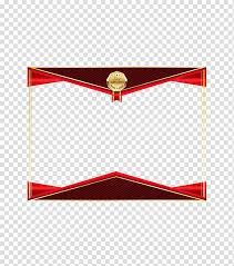 Certificate Border Transparent Background Png Cliparts Free