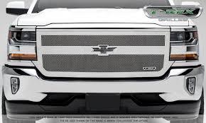 T-REX Chevrolet Silverado 1500 Upper Class Mesh Grille, 1 Bar ...