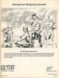 Hexagonal Mapping Booklet Exc Unmarked D D Tsr Dungeons Dragons