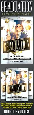 Graduation Flyer Template Template Graduation Flyer Template Invitation For Party 11