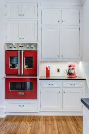 Kitchen With Red Appliances Kitchen Design And Redesign Archives Kitchen Remodeling By