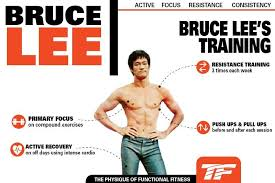 bruce lee s workout