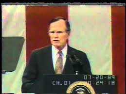 george h w bush announces the space exploration initiative  george h w bush announces the space exploration initiative 20 1989