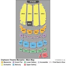 Vipseats Com Orpheum Theatre Memphis Tickets