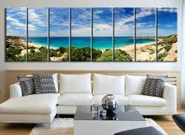 canvas art prints panorama of butlers beach large canvas print south australia beach landscape  on wall art prints australia with canvas art prints panorama of butlers beach large canvas print
