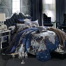 royal blue bedding sets image of velvet double bed sheets