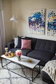 New York Living Room Home Decor Update New York City Apartment 2017 Katies Bliss
