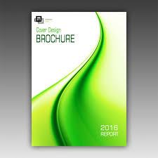 Green Brochure Template Green Brochure Template Psd File Free Download
