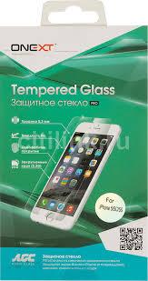 Купить <b>Защитное стекло</b> для экрана <b>ONEXT для</b> Apple iPhone 5 ...