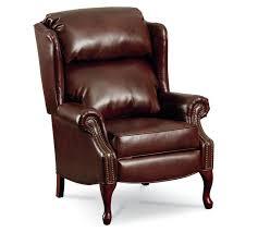 savannah high leg wingback recliner