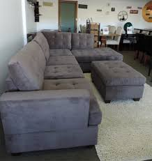 Charcoal Grey Leather Sectional Sofa Sofacharcoal Comfy Chenille