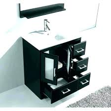 bathroom vanity with top black vanities inch of com in plan inches tops 31