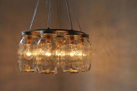 furniture captivating canning jar chandelier 12 wrought iron