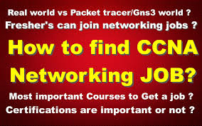 How To Find Ccna Networking Job Fresher S Can Join Networking