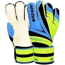 Vizari Size Chart Vizari Avio Goalkeeper Glove Finger Protection Blue Green