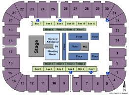 Berglund Center Theater Seating Chart Berglund Center Coliseum Tickets Seating Charts And