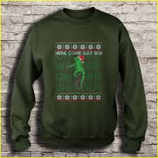 Here come Dat Boi Ugly Christmas Sweater - T-shirts | TeeHerivar