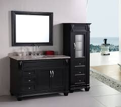 Curved Bathroom Vanity Cabinet Bathroom Design Endearing Of Dark Brown Finish Wood Merlot
