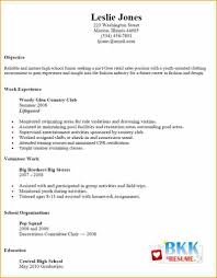 Resume Examples For Jobs Basic Resume Examples for Jobs 100 Basic Resume Examples for Part 100