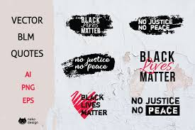 Set of hand drawn simple colorful vector peace icons, collection. Vector Blm No Justice N Peace Quotes By Png Eps Ai 652809 Elements Design Bundles