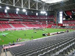 Seating Chart Arizona Cardinals Stadium Arizona Cardinals Seating Brandavia Co