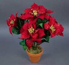 Details Zu Weihnachtsstern 42cm Rot Im Topf Ar Kã¼nstliche