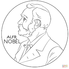 Small Picture Alfred Nobel coloring page Free Printable Coloring Pages