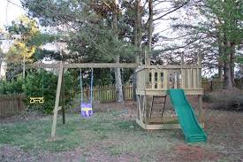 diy playset with swing