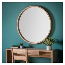 incredible round wooden mirror large wall exclusive uk with shelf australium nz rope set target ikea