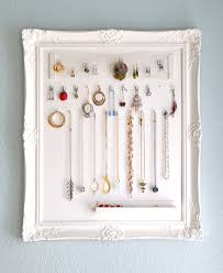 Diy Jewelry Organizer Diy Jewelry Organizer Wall