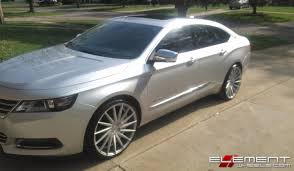 22 inch Staggered Varro VD15 Matte Silver Brushed Face on 2015 ...