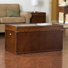 coffee tables leather steamer trunk coffee table tables small wooden apothecary decor with wheels diy