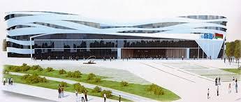 Еще один дворец В Минске начали активно строить центр  В Минске начали активно строить центр художественной гимнастики Недвижимость onliner by