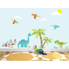 innovation inspiration dinosaur wall art home design ideas luxury nursery sticker scenes stickers uk stretched canvas on wall art childrens bedrooms uk with fascinating dinosaur wall art remodel ideas 3d dinosaurs stickers
